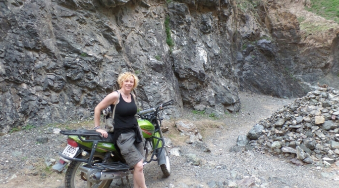 Trip to the Gobi Desert Part Four – the White Stupa and a lovely toilet